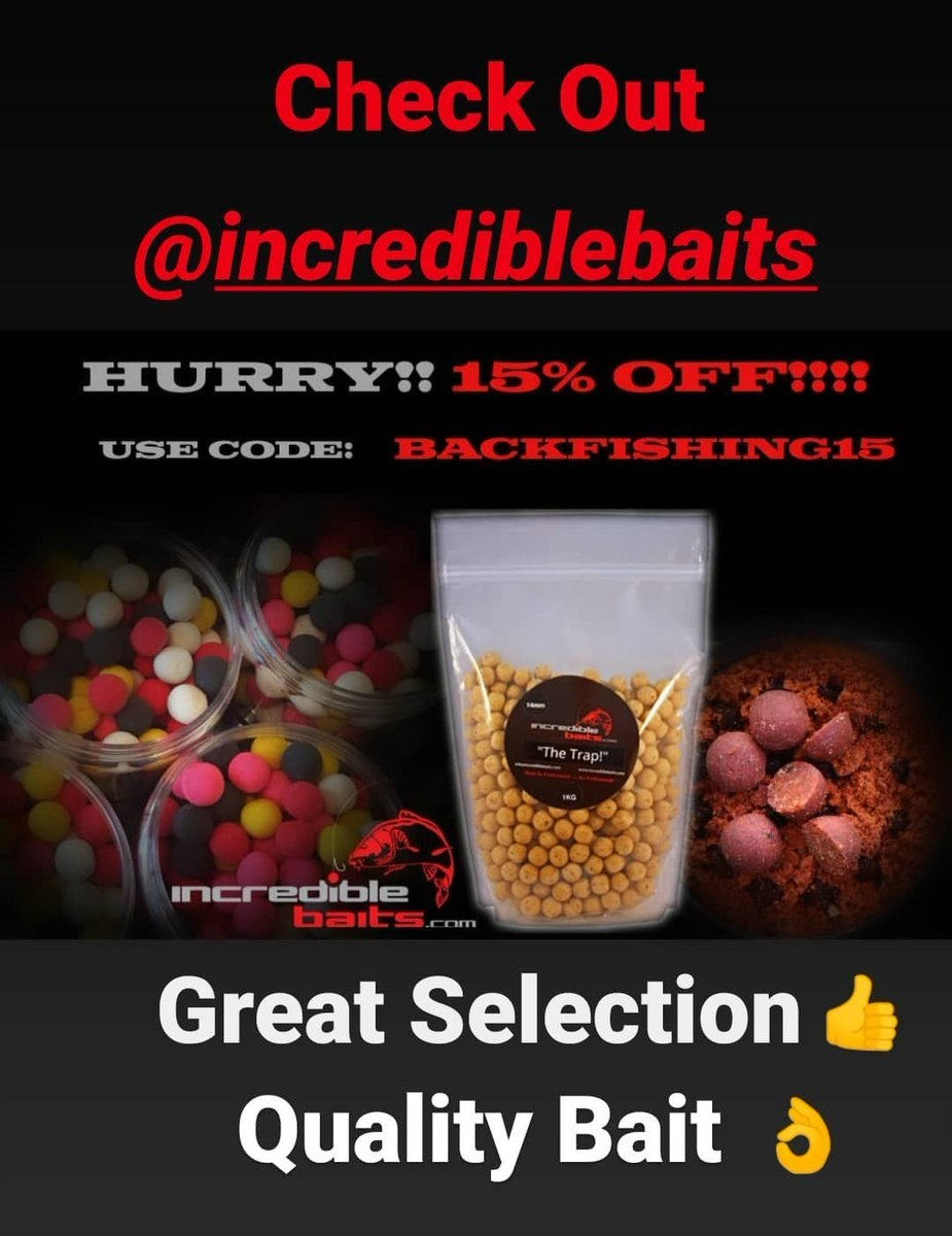 Great Offer!!! @incrediblebaits Check it out. #Carpbait #Carpfishing #Incrediblebaits #Incredibletac