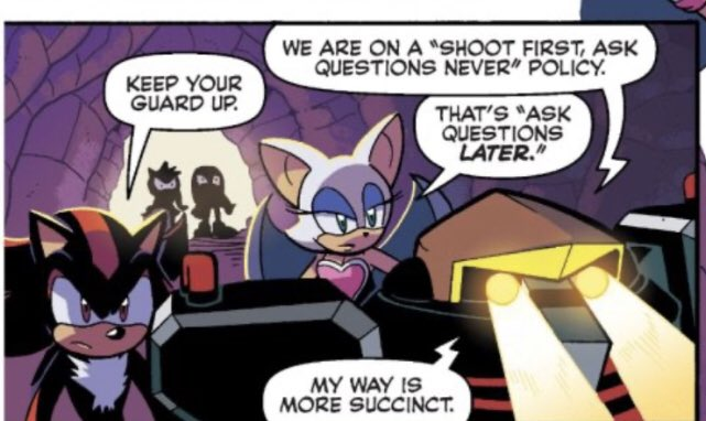 Just some of the reasons Omega is one of my favourite characters: #sonic #archiesonic #IDWSonic