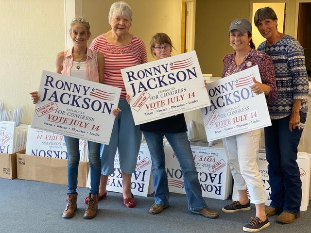 Grassroots wins elections! Jane and Team Ronny volunteers are activated, motivated and ready to turn out voters in Amarillo!