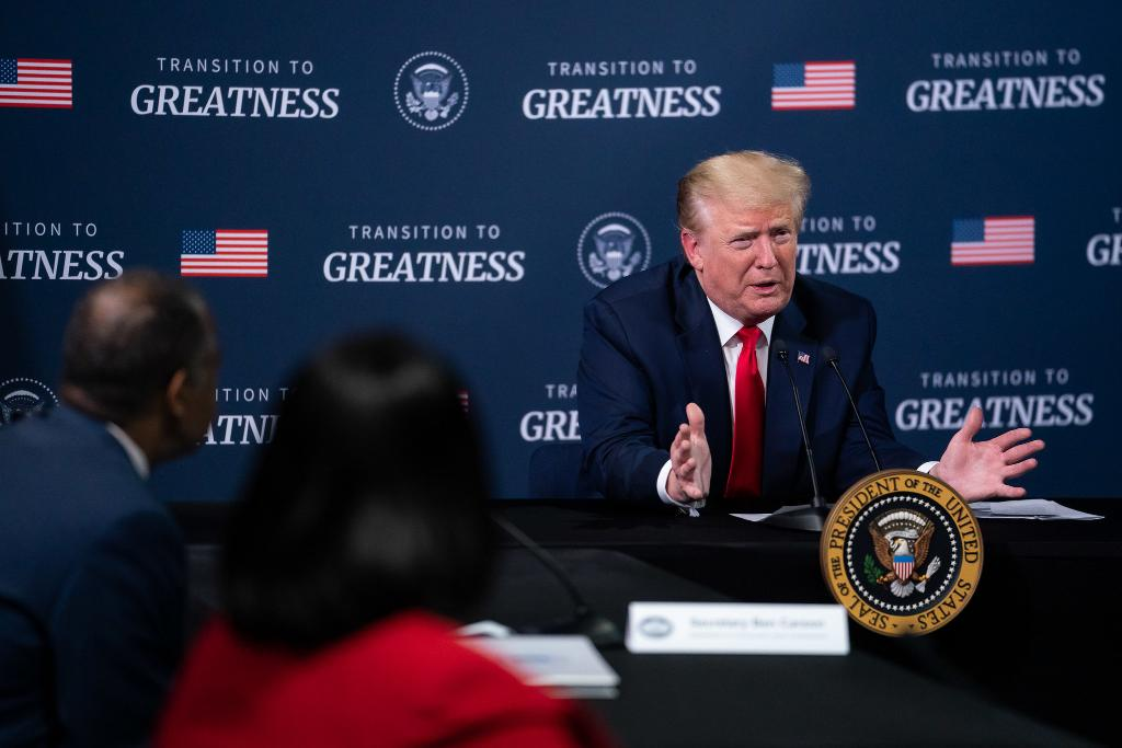 During his trip to the Detroit area this week, President @realDonaldTrump met with African American leaders for a listening session on protecting the health, safety, and economic opportunity of African Americans and all Americans.