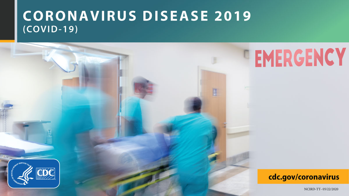 The latest CDC #COVIDView report shows the percentage of visits to doctor's offices and ERs for illnesses with symptoms likely related to #COVID19 are declining nationally, thanks in part a result of widespread efforts to slow the spread of #COVID19: