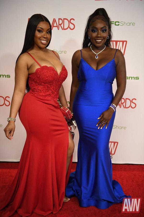 WOW How much sexy black girls are! 🔥😍❤️ Beautiful ebony babes @AryanaAdin1 @MsAryanaAdin__ @OSALOVELY @ashleyaleighxxx @DayaKnight @TeannaTrrump look so hot 🔥🔥🔥 on the red carpet of the 2020 @avnawards Show 💋💋💋