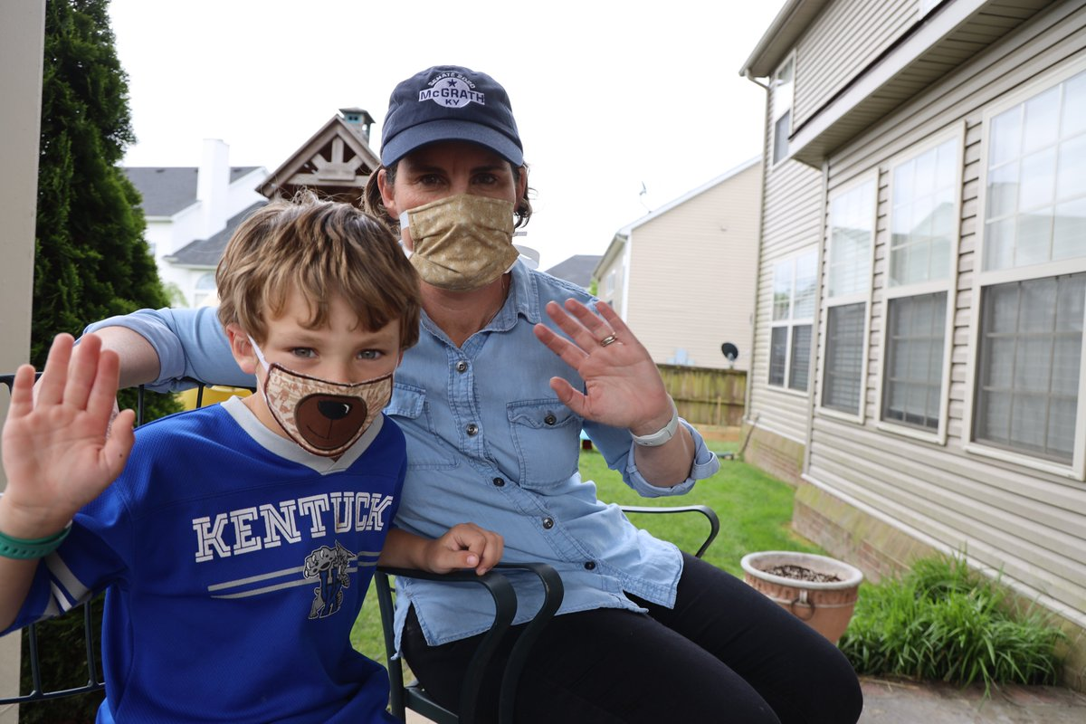 I wear a mask to protect my fellow Kentuckians. Why do you?
