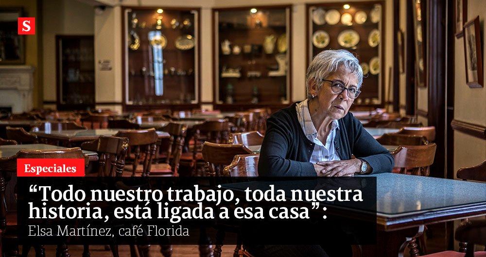 A sus 71 años, Elsa Martínez intenta salvar el tradicional café bogotano Florida. Con 90 trabajadores, tiene una nómina de 200 millones al mes que hoy no puede pagar. Pide ayuda. Entrevista de @MJDuzan  Especiales #Semana #ElRestauranteQueMásExtraño