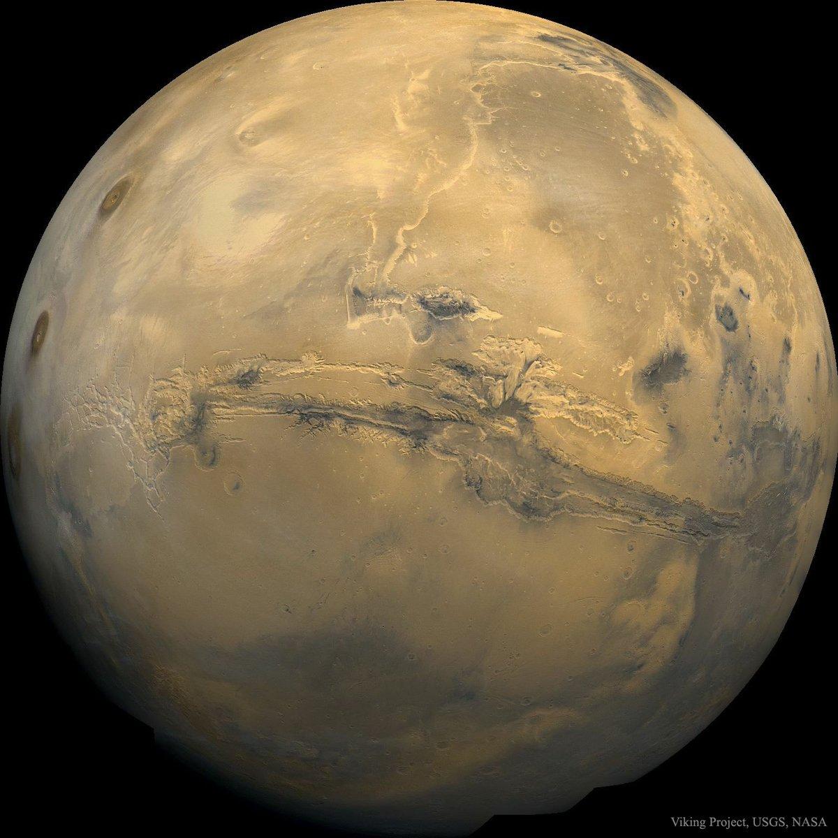 Valles Marineris  The Grand Canyon of #Mars