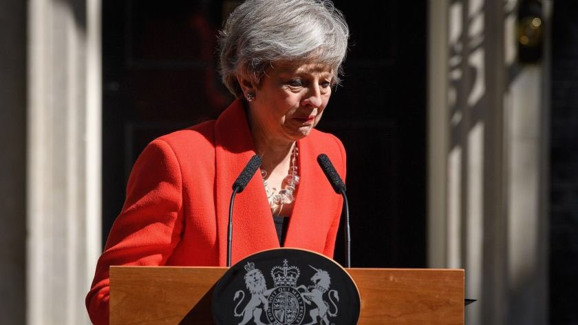 In case anyone needed a reminder of the passing of time, Theresa May resigned a year ago today.
