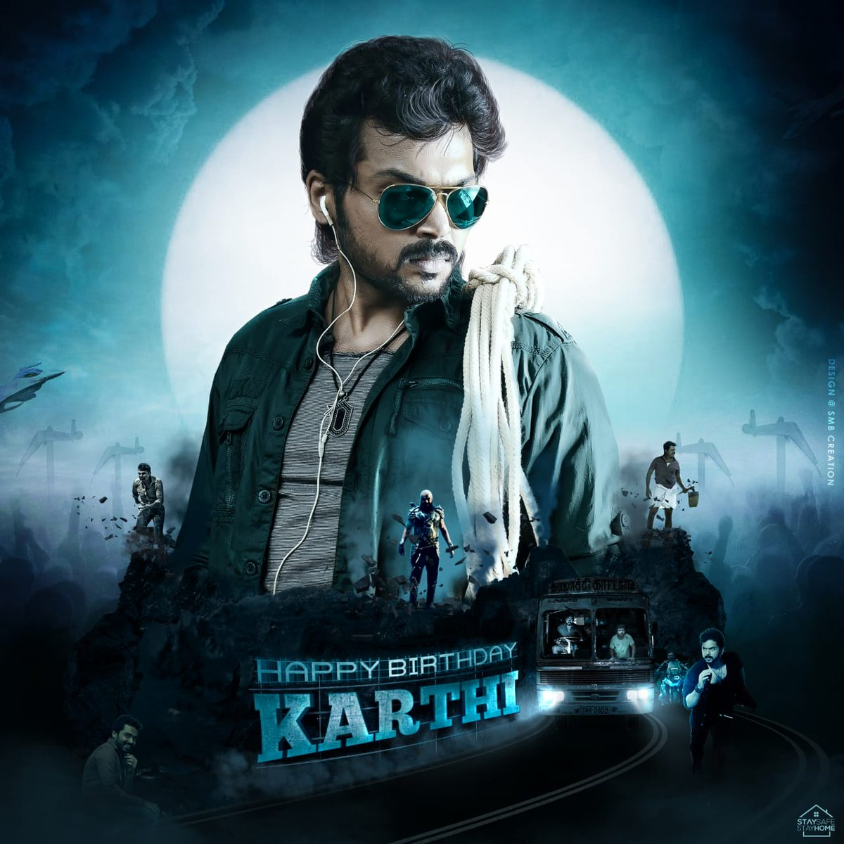 Here's the CDP to Trend the celebrations of Hero @Karthi_Offl's Birthday tomorrow   #HappyBirthdayKarthi