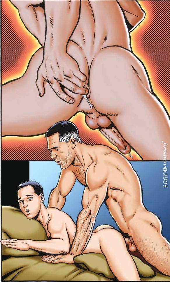 Порно Комикс Гей Псы О Братишка