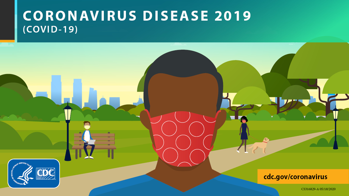 Be mindful of social distancing this #MemorialDay weekend. Stay at least six feet from others to slow the spread of #COVID19. If visiting public spaces like parks, trails, and aquatic venues, avoid crowded areas. Learn more: