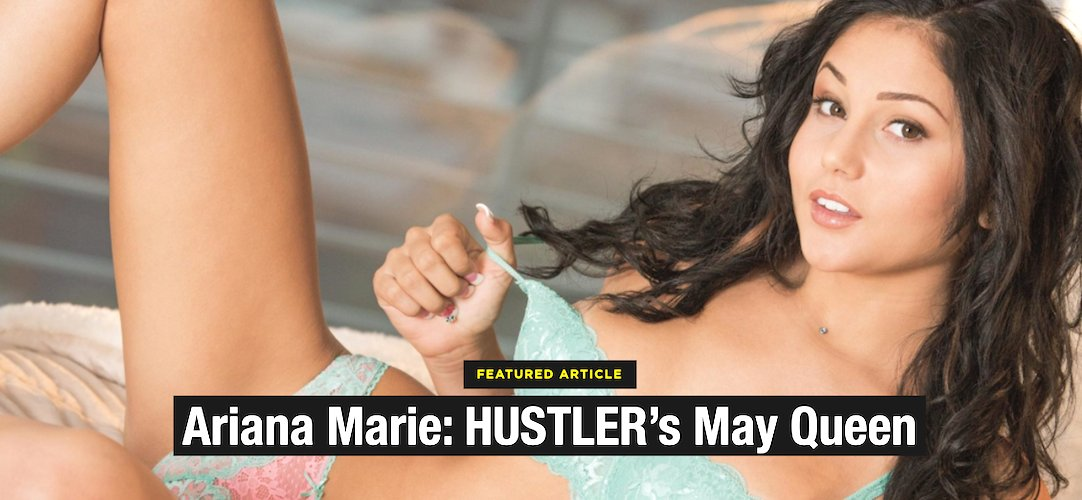 HUSTLER's May Queen ~ A loving pictorial salute to our long, sexy relationship with XXX beauty @MsArianaMarie.💋 🔎:  #SpotlightSunday