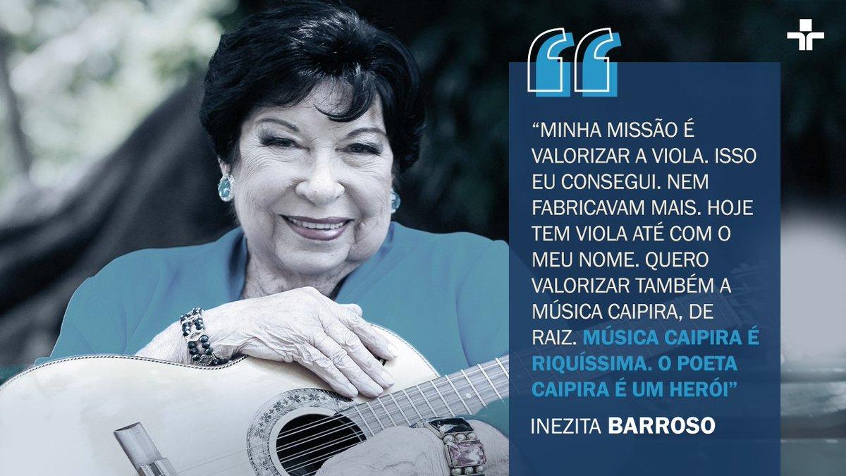 Hoje, o programa mais tradicional e mais antigo de música da TV Brasileira faz 40 anos desde que foi ao ar pela primeira vez na tela da #TVCultura. Com Inezita Barroso, o  'Viola, Minha Viola' deu voz a música caipira, trazendo grandes nomes do gênero para seu palco!