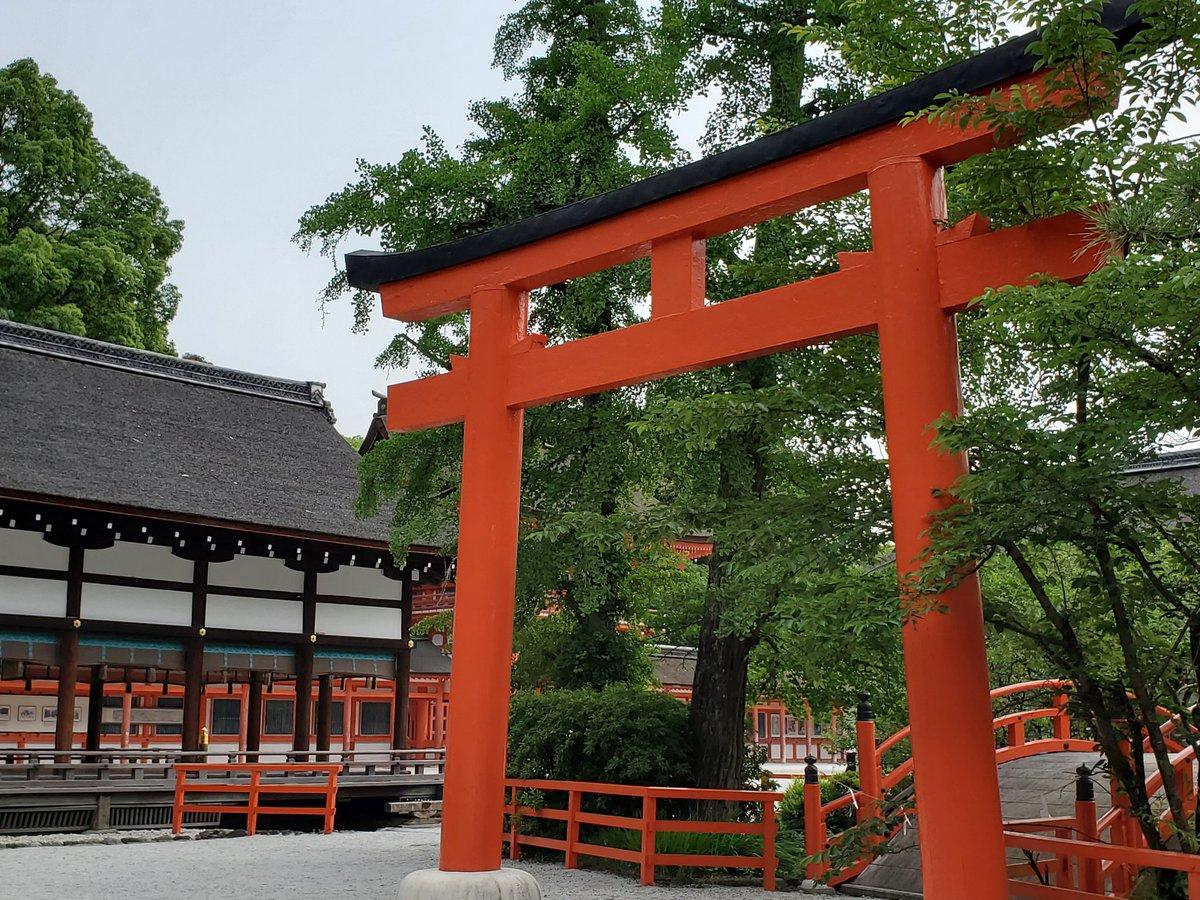test ツイッターメディア - 下鴨神社に寄って、出町ふたばで豆餅と水無月買ったので今から帰ります。 初めてづくしの京都一人旅。 https://t.co/LpZrhMoid2