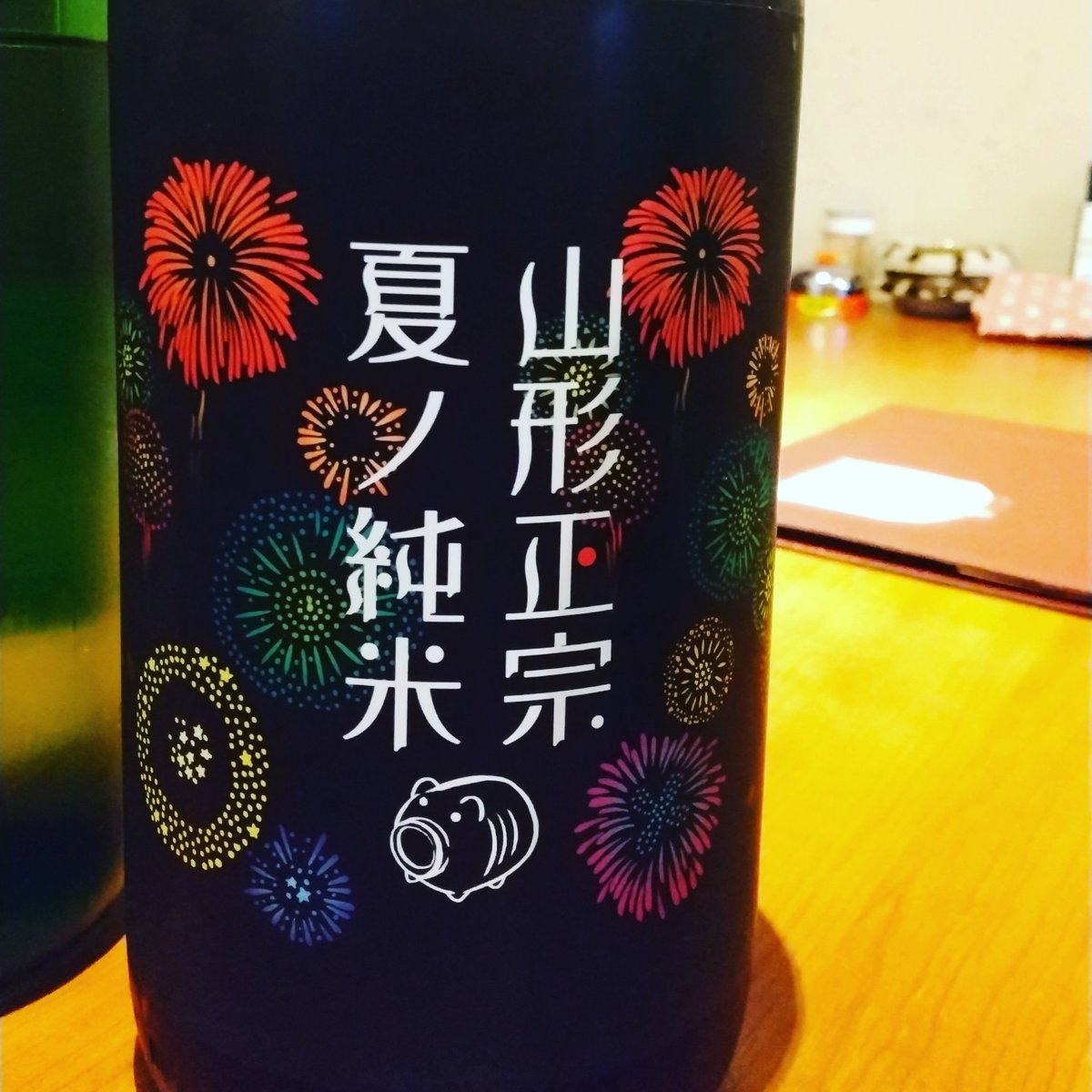 test ツイッターメディア - 今年も山形正宗 夏の純米が飲める季節🥰  スッキリするだけでなく旨味も楽しめるので人気あります  花火(旨味)と一緒にスーッと吹く清々しい風(爽やかなキレ)はまさに夏の夜風 https://t.co/utTWu7eZug