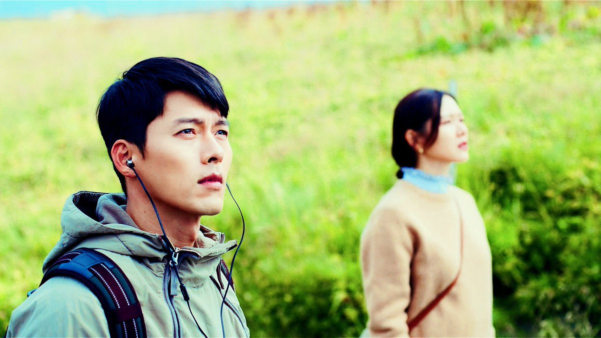 stay with me for always, just like this come to me like destiny and stay with me... 🦋🍃  #crashlandingonyou • #hyunbin • #sonyejin