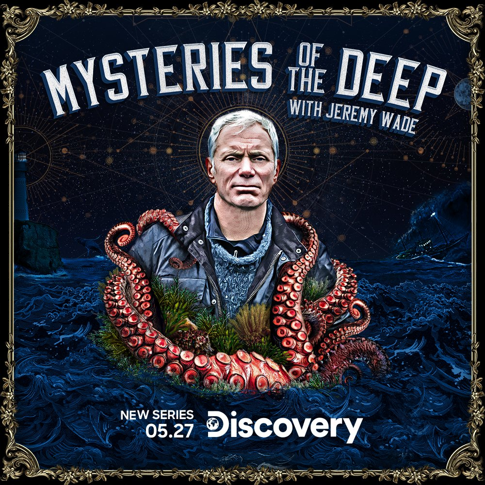 For all our friends across the pond, #MysteriesoftheDeep with #JeremyWade premieres #tonight at 10PM ET on @Discovery   #newseries #premiere #MOTD #NotFootball https://t.co/lyCJRcGNFA