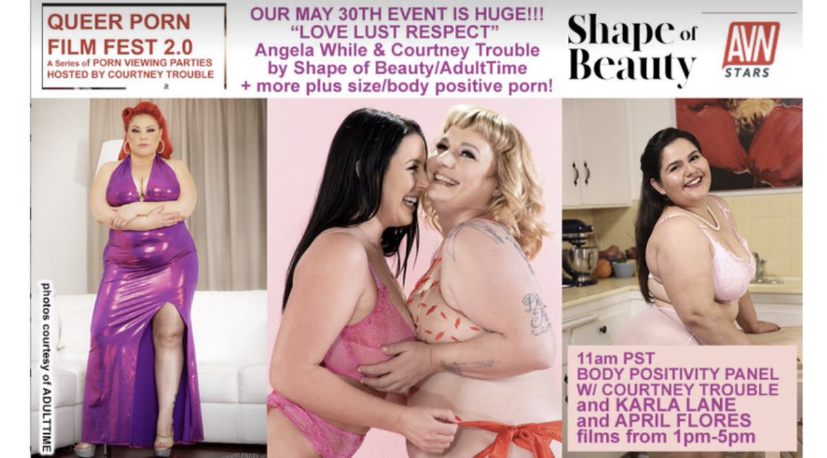 Join us this Saturday 5/30, 11amPT for a FREE screening & panel with me, @karlaxxxlane & @courtneytrouble. This is also a benefit for @FSCArmy's emergency fund which is assisting people in the industry whose income has been impacted by the production halt.
