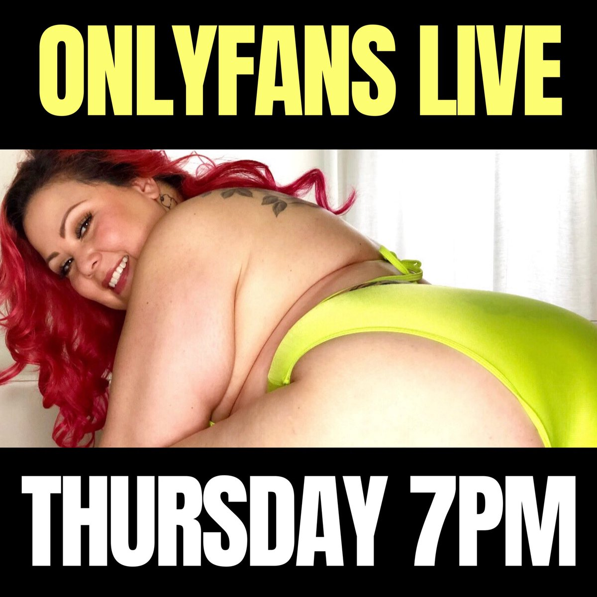 Tomorrow is my second LIVE show at 7pm PST. I can't wait to play with you on  💛