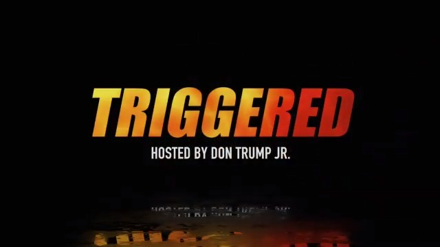 TOMORROW: Join Team Trump Online for TRIGGERED hosted by @DonaldJTrumpJr with special guests @BurgessOwens and @HerschelWalker at 8:00 pm ET!  RSVP:   #Triggered