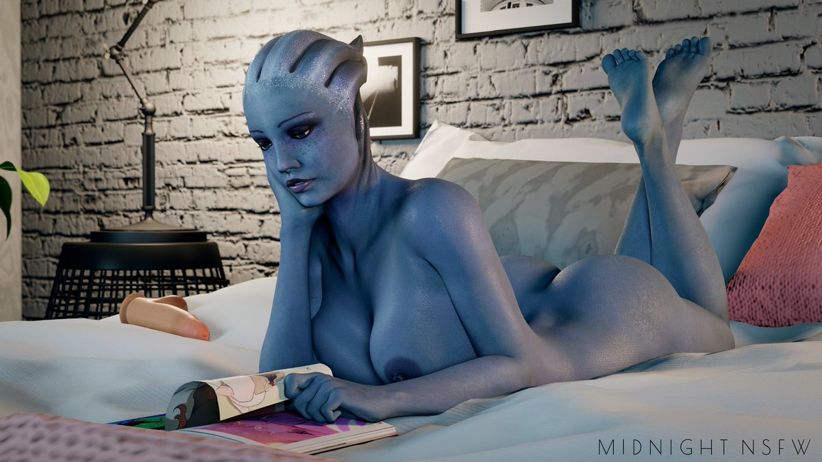 4K / 1080 without watermark on my Patreon:   Models by @Rigid3d  #nsfw #r34 #rule34 #MassEffect #liaratsoni
