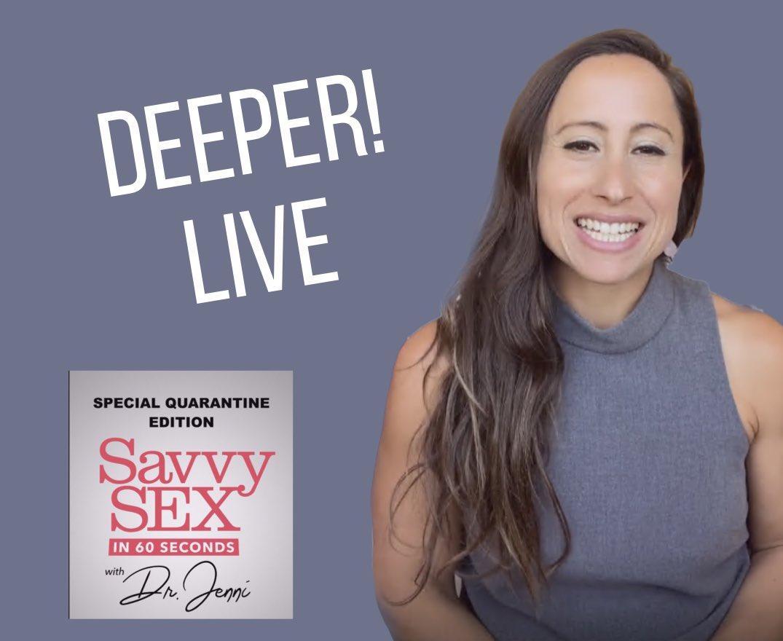 Dr. Jenni Skyler Live on our Instagram ! Click here👉  #masturbationmonth #adamandeve