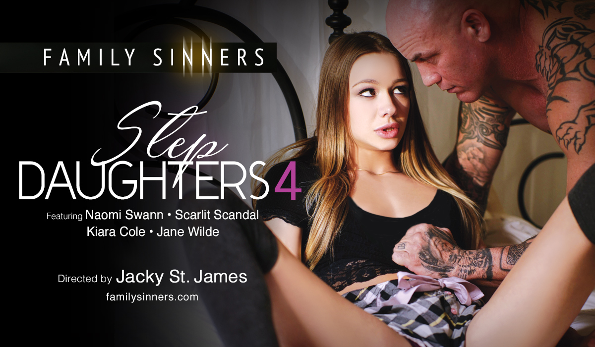 The naughty #StepDaughters you lust for are back!!  *Step Daughters 4* #FamilySinners #Comingsoon @Naomi_Swann @ScarlitScandal @kiaracolexx @janewildexxx  by @jackystjames