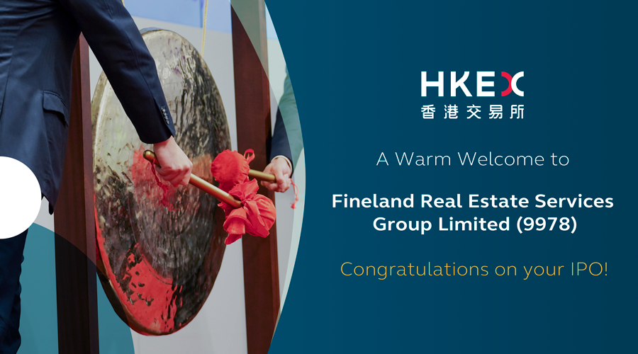 Fineland Real Estate Services Group Limited (9978) transferred from GEM to the #MainBoard today! #Congrats https://t.co/J4c29aaFXx