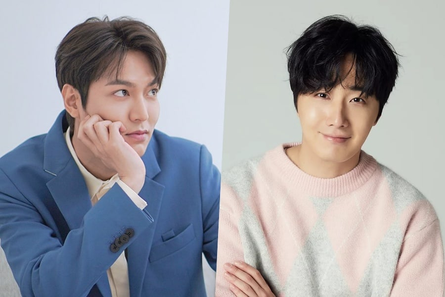 "#LeeMinHo Shows Off Gift From #JungIlWoo On Set Of ""#TheKingEternalMonarch"""