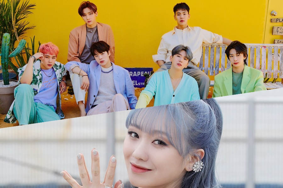 #MONSTA_X And #Lovelyz's Sujeong Talk About A Funny Encounter Between Their Two Groups