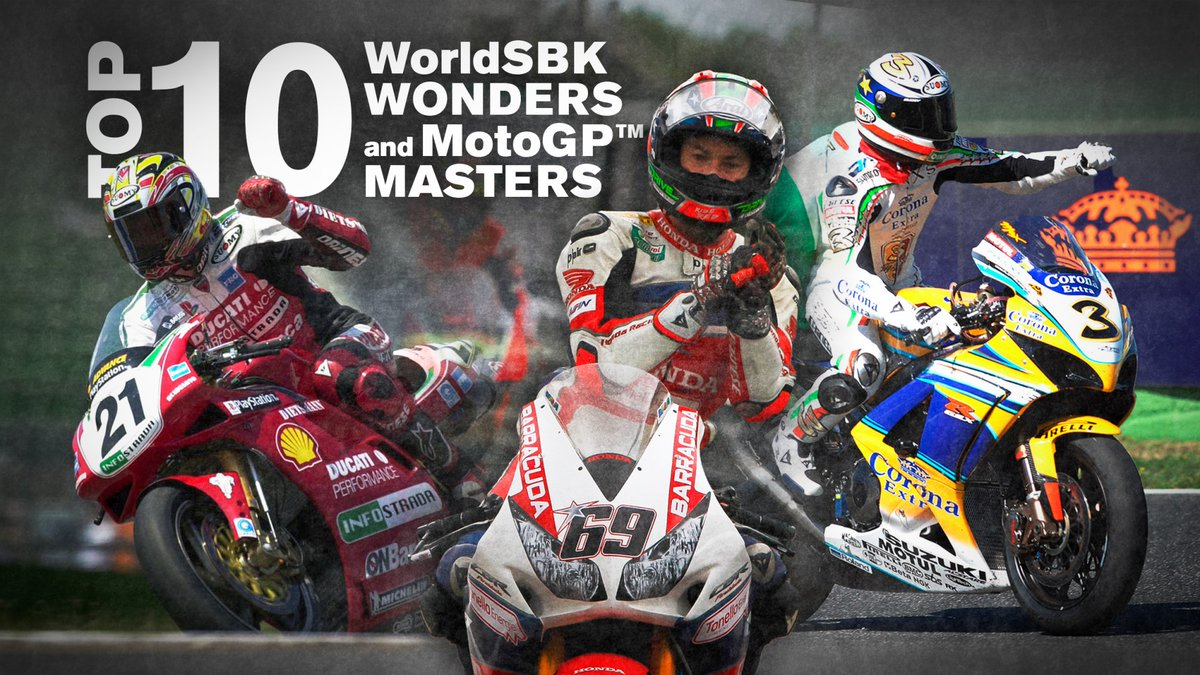 test Twitter Media - Top 1️⃣0️⃣... Winners in WorldSBK and @MotoGP: Part 2  ✊🏻Plenty of action from five World Champions, but who comes out on top?  📃| #WorldSBK  https://t.co/mEBaokUuBJ https://t.co/8DznNRmKlT