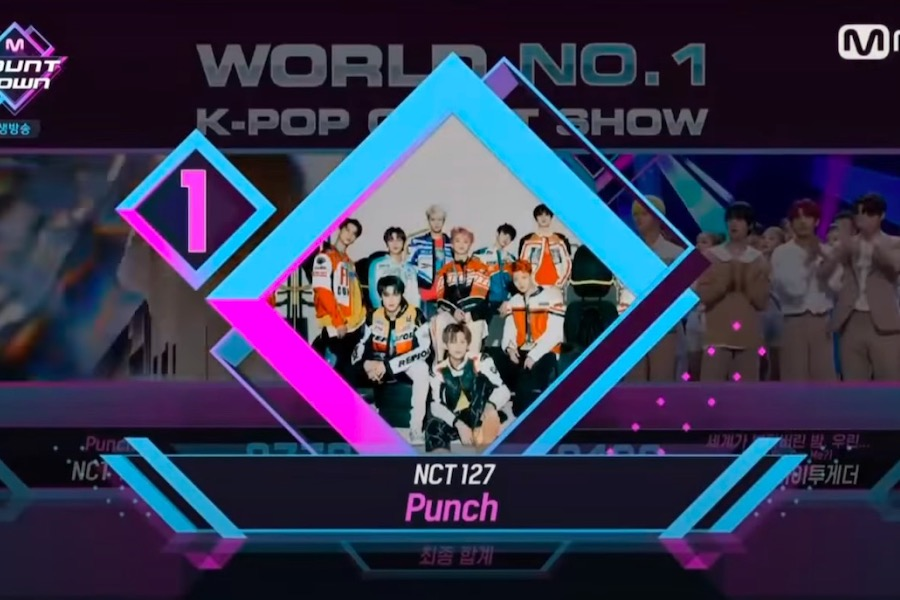 "WATCH: #NCT127 Takes #Punch1stWin On ""M Countdown""; Performances By #MONSTAX, #TXT, #KimWooSeok, And More"
