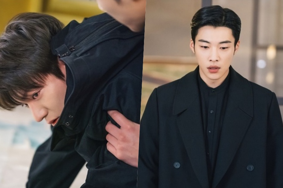 "#WooDoHwan Watches Over An Injured #LeeMinHo In ""The King: Eternal Monarch"""