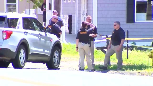 The University of Connecticut student accused of killing two people, kidnapping another and leading police on a six-day manhunt was arrested in Maryland, authorities said.