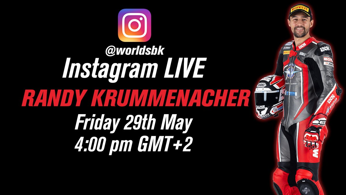 test Twitter Media - Reigning #WorldSSP Champion @Krummenator will be our next Instagram live guest!   🗓29th of May ⏰4pm (GMT+2)  Send your questions to Randy👇🏻 https://t.co/hSkB00HQUN https://t.co/SsACLfyIQs