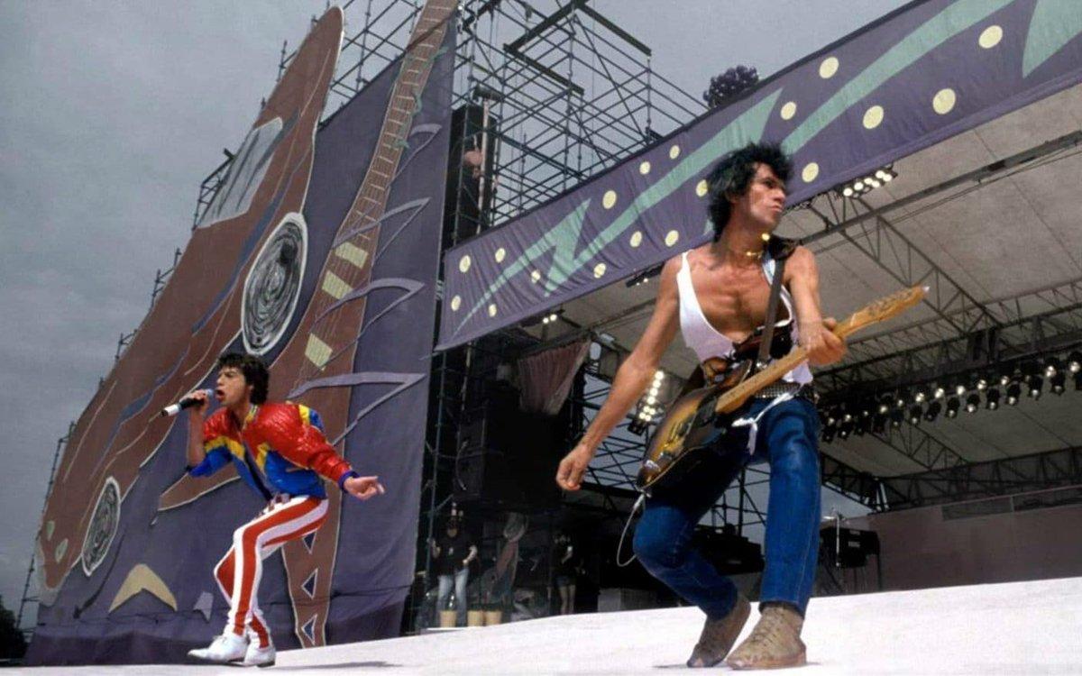 The Rolling Stones, 1982. 📷 Denis O'Regan.