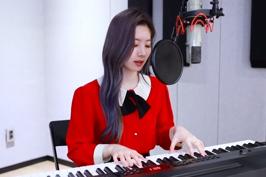 "WATCH: #TWICE's #Dahyun Celebrates Birthday By Putting A New Spin On ""Feel Special"" As She Sings And Plays The Piano"