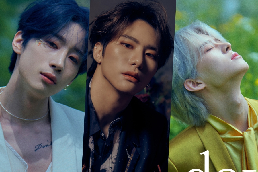 "#VICTON's Seungwoo, Seungsik, And Subin Captivate In Bright And Dark Teasers For ""Mayday"" Comeback"