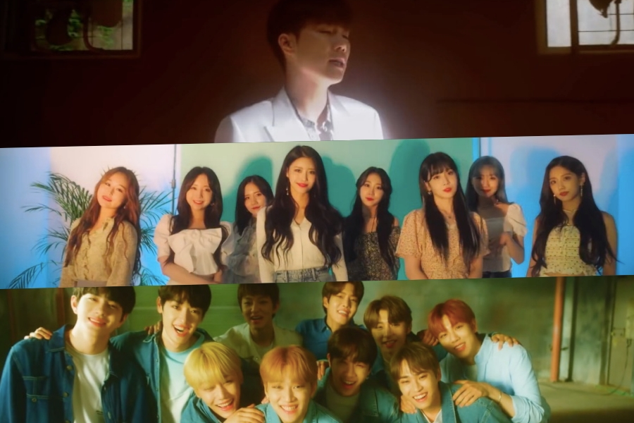 WATCH: Woollim Artists Unveil Teaser Video For Collaboration Track MV