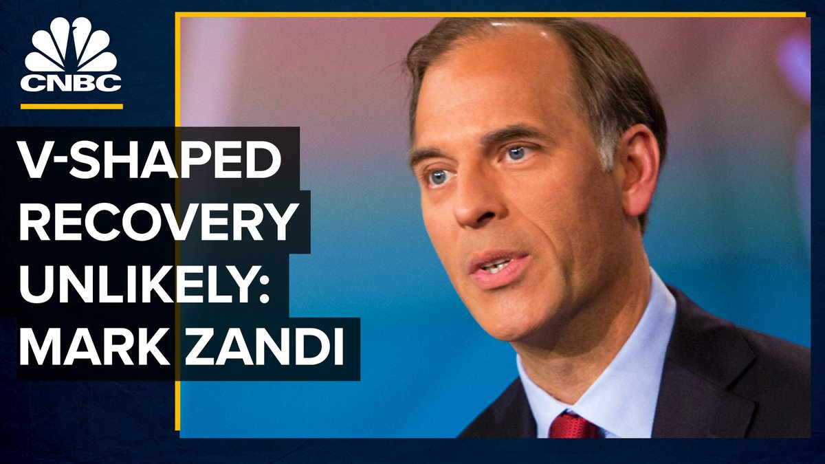 The economy faces long-term damage even as businesses reopen, Moody's Analytics chief economist Mark Zandi says. Watch the full video here: