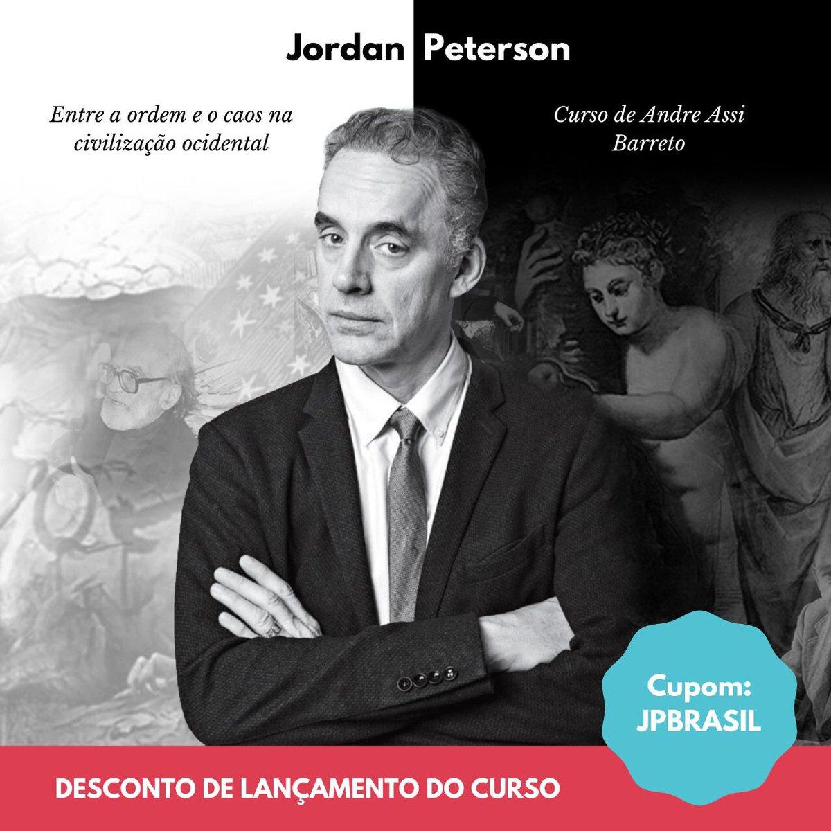 Hoje é o último dia para se inscrever no curso do @aassibarreto sobre o pensamento de Jordan Peterson, o maior psicólogo da atualidade.