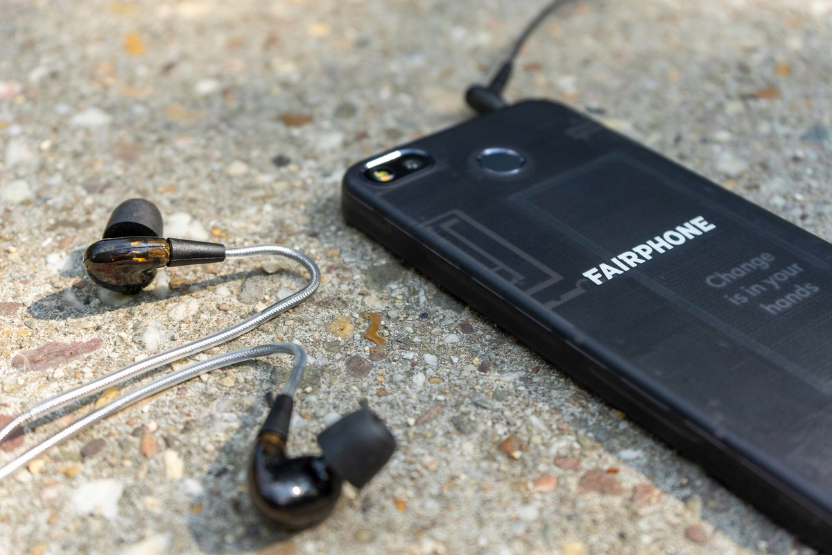 Our #modular earphones, like our Fairphone, are designed for #reuse and #repair to cut down on e-waste. For the month of May, we are giving away a free pair of modular earphones on request, with every purchase of a Fairphone 3. Available now 🎶 👉 :