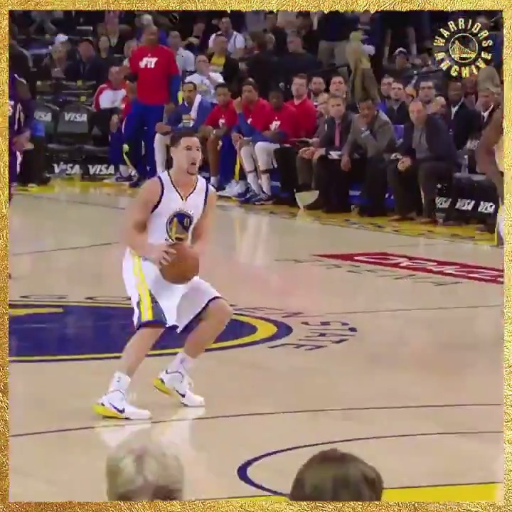 37 points. 1 quarter.    January 23, 2015 — Klay makes NBA history.   #WarriorsArchive: Making of a Champion, presented by @HPE https://t.co/SVD4hwmCUD