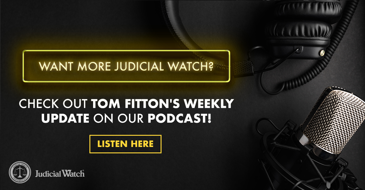 Want even more from @JudicialWatch? Be sure to check out our podcasts in the links below!   Apple:   Google Play: