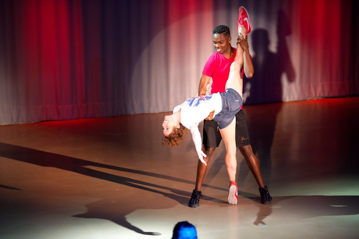 """Throw back to that time when @ballerinabuoy danced with @AnnaJaneCasey at @provoperforming show """"London Calling."""" We shall miss you in our classes Tray - you've been a fixture since 2016!! But we can't wait to see what you do next as you accept a Full Scholarship at @TTCtweets"""