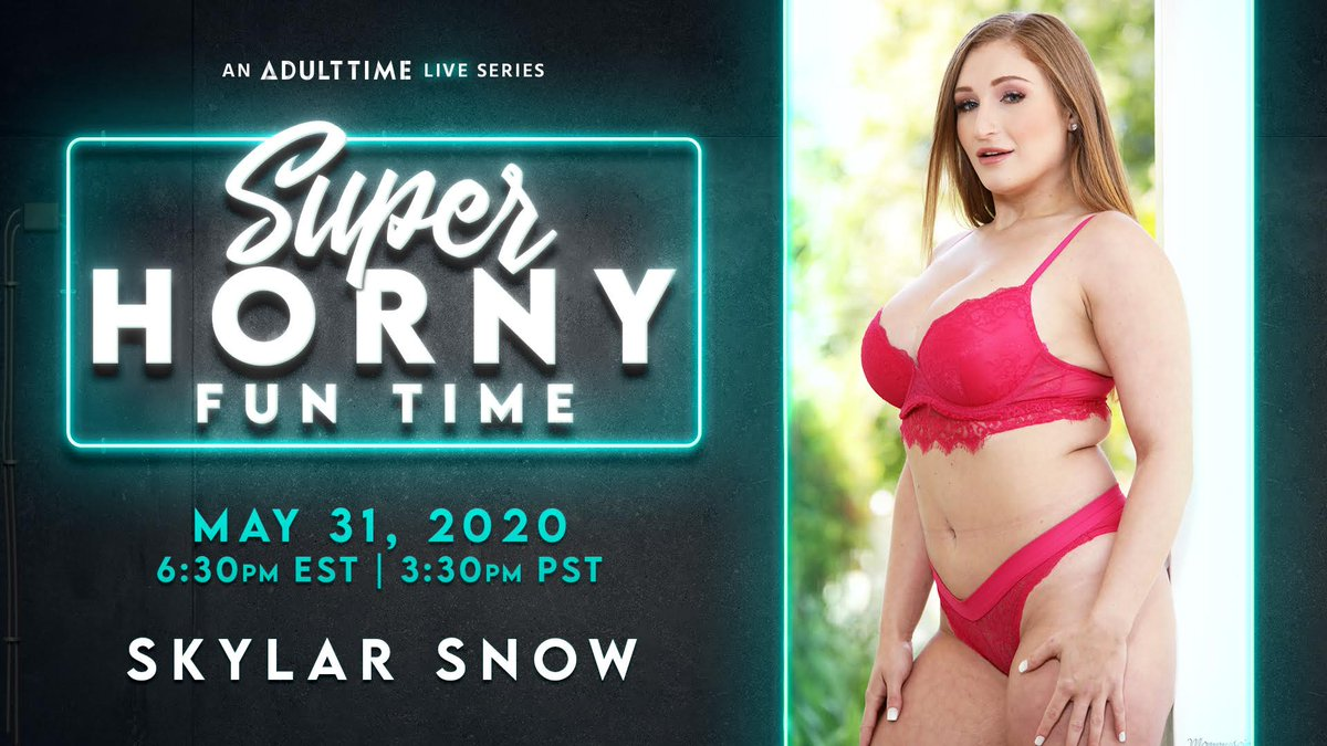 I'm super excited to be doing a LIVE SHOW for @Adulttimecom on Sunday! I hope you all come join me and make it extra horny and fun 🥰