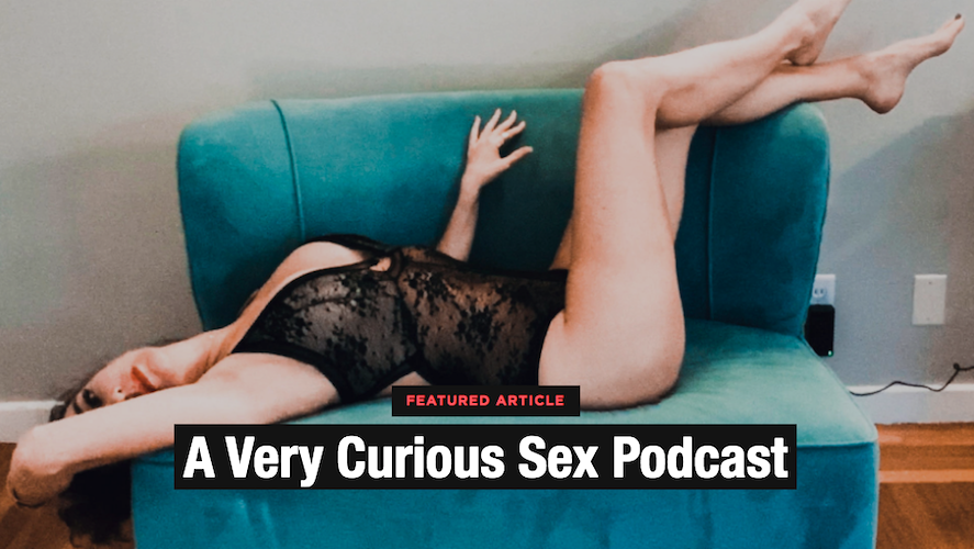Today's exclusive: A Very Curious Sex Podcast ~  Meet The Curious Girl Diaries host Layla, who turned a years-long dry spell into a quest to complete her sexual bucket list—and shares all of the sexual escapades with her listeners! @thecurious_girl 🔎: