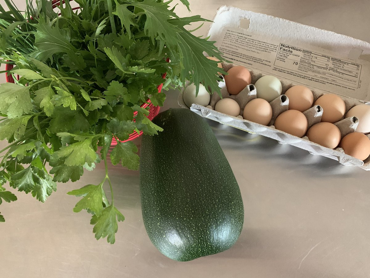 What I picked from my garden... Gardening has giving me something to focus on during quarantine. I am eternally grateful to nature and the miracles that happened every day.