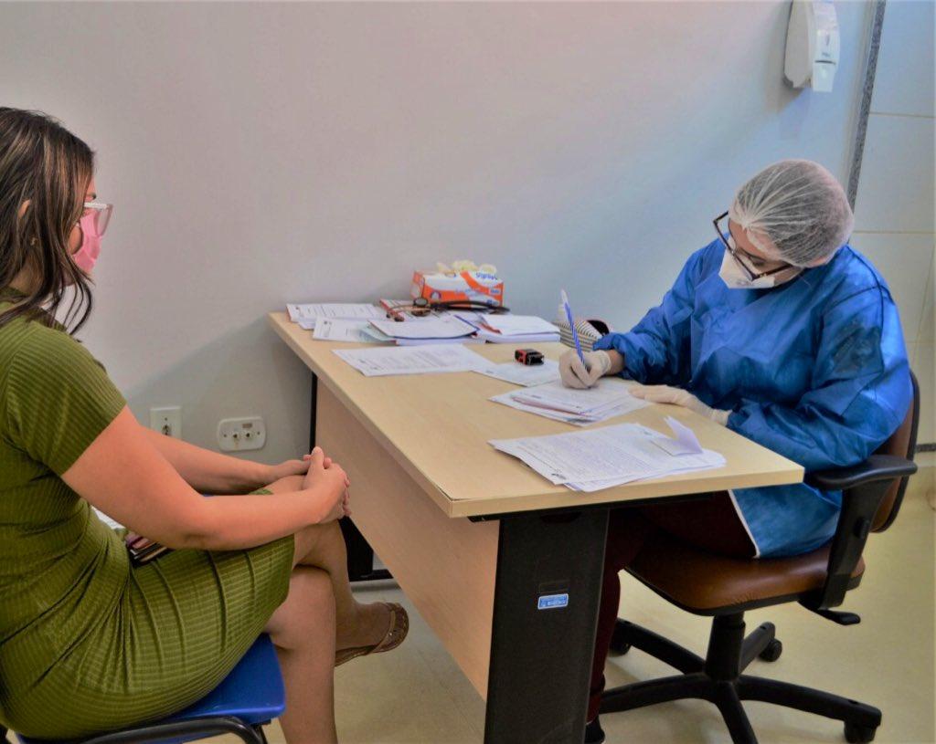 Na Baixada estamos com o Ambulatório para pacientes de coronavírus funcionando no nosso Hospital Macrorregional situado em Pinheiro, onde também existem leitos de UTI e enfermaria.
