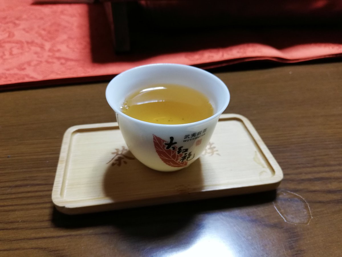 test ツイッターメディア - 中国茶を飲みながらまったり。単叢の新茶と岩茶の春蘭。大手饅頭をおともに🍵 https://t.co/IDzHHgWVvE