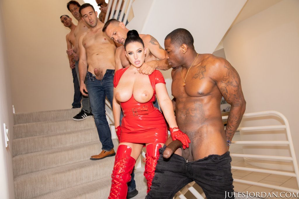 Who else is in this queue to use Angela White's tight pussy and hot mouth?!