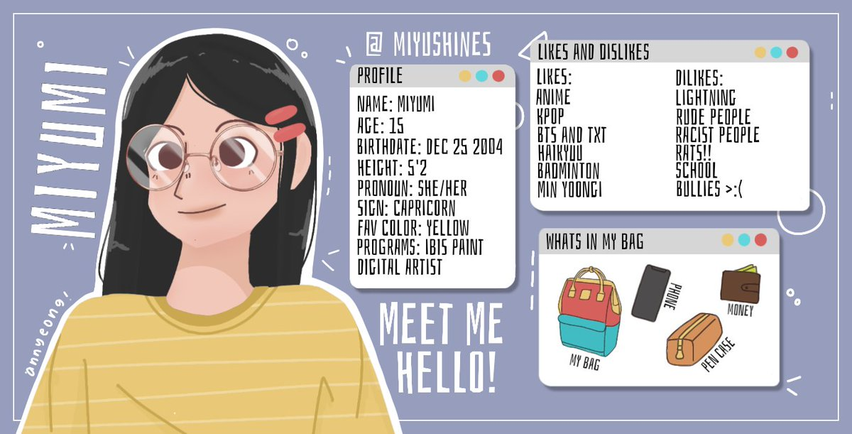 Hello I'm Miyu! It's nice to meet you 🥺👉👈 Let's become friends and talk about our art! #art #artph #artist #MeetTheArtist